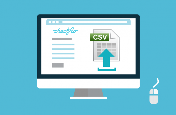 Upload CSV data file