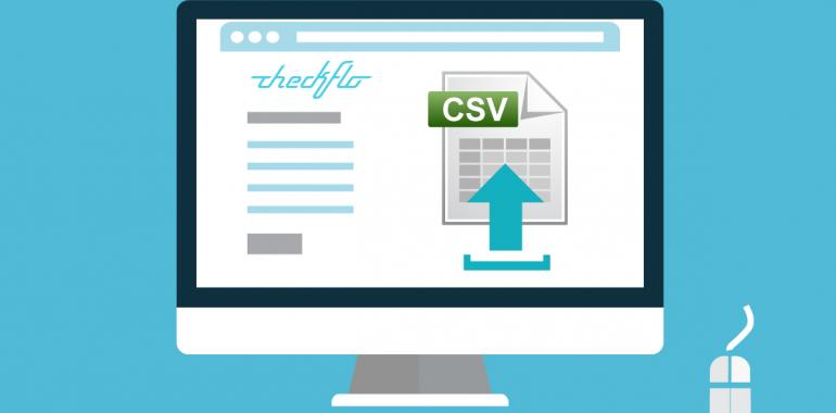 Upload Data CSV File