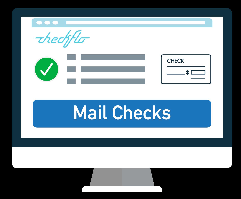 Checks By Mail >> Checkflo Print Mail Checks On Demand