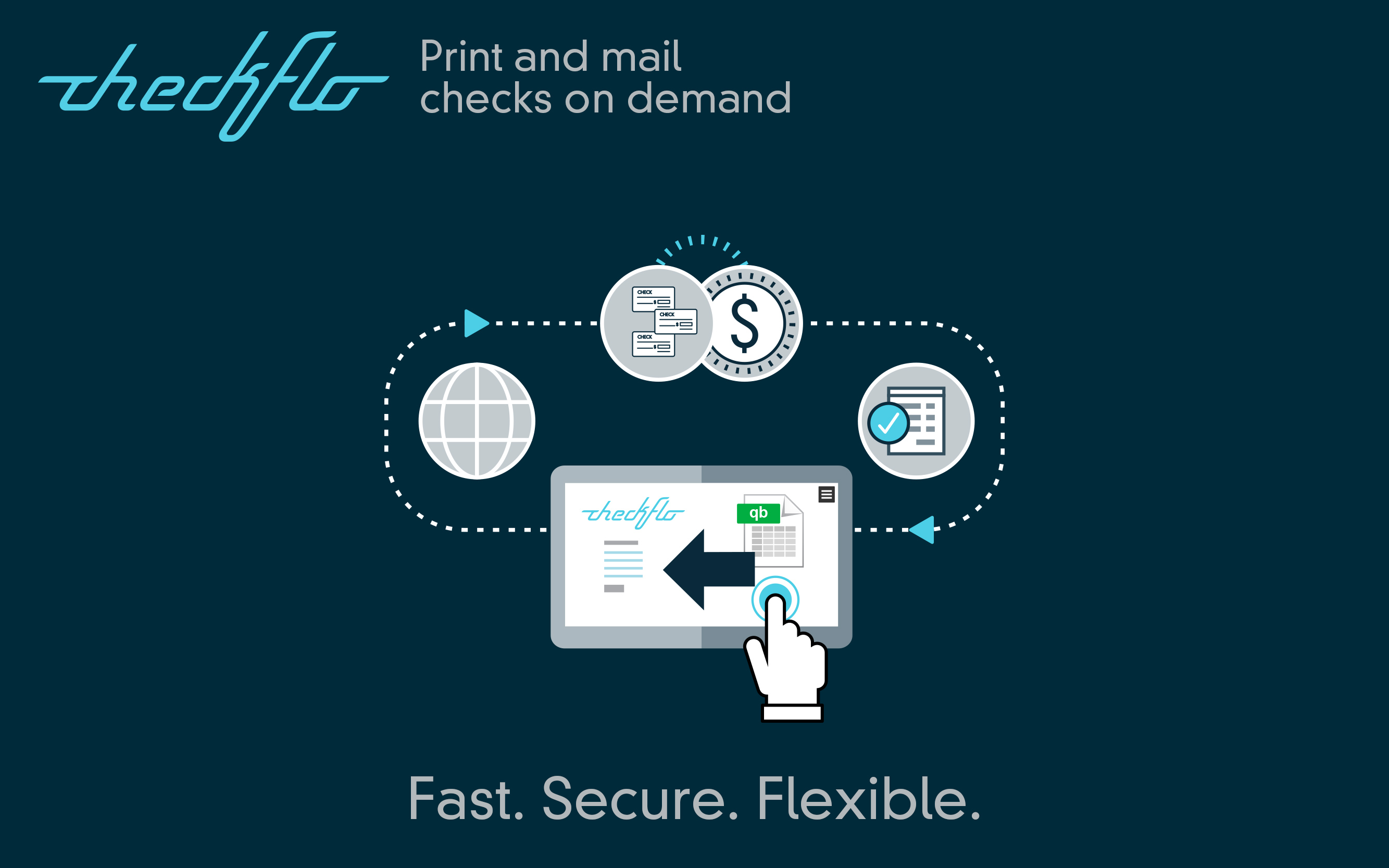 Print and Mail Checks on demand