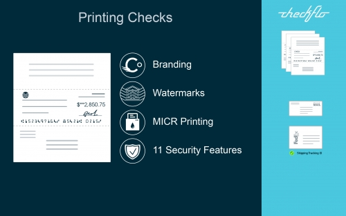 Checkflo App - Printing Bank Checks