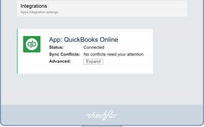 Integrating Checkflo with QuickBooks Guide