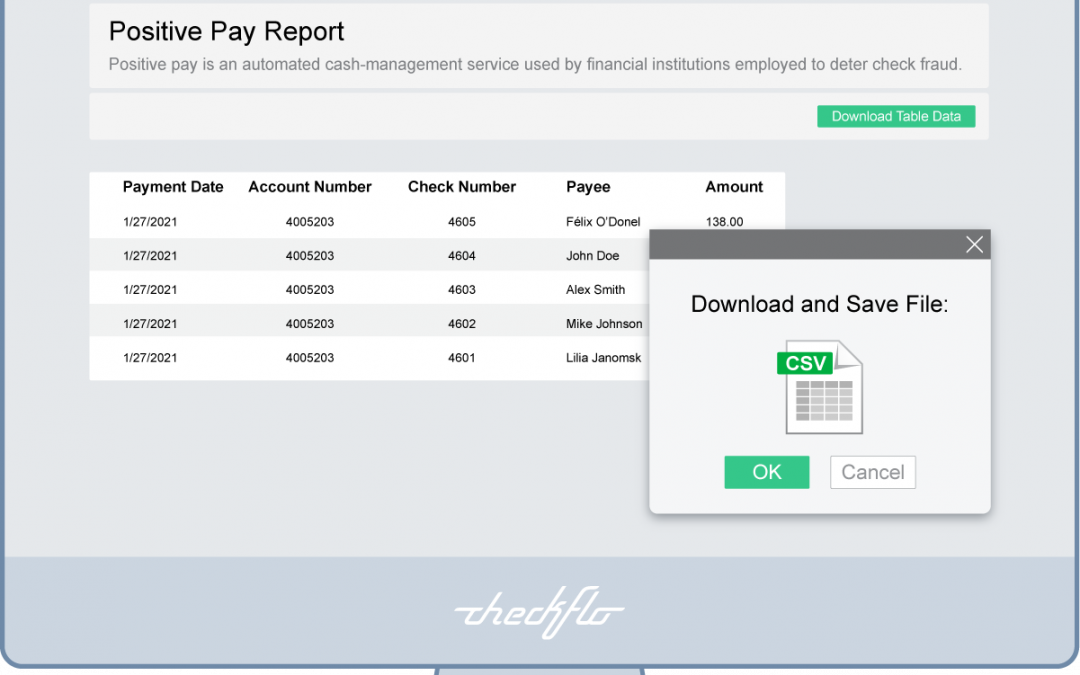 Positive Pay: A Powerful Tool to Protect Your Company